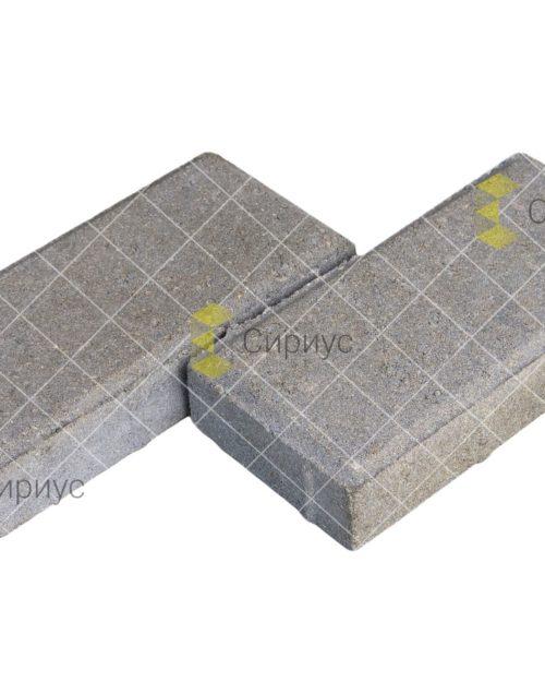 Серая тротуарная плитка (брусчатка) 2П4