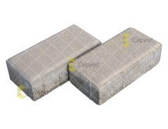 Серая тротуарная плитка (брусчатка) 2П6