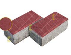 Красная тротуарная плитка (брусчатка) 2П8