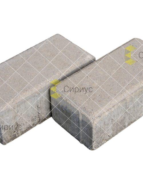 Серая тротуарная плитка (брусчатка) 2П8