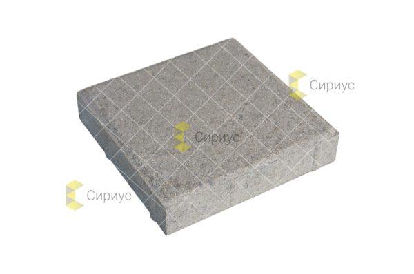 Серая тротуарная плитка, квадрат 2К4