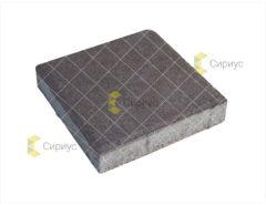 Черная тротуарная плитка, квадрат 2К4